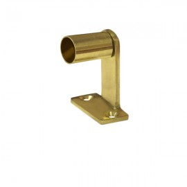 10mm Solid Brass Muslin Bracket, Gold