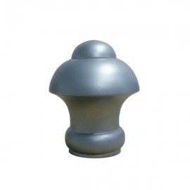 25mm Half Dome Finial, Satin Stainless