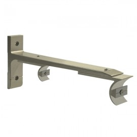 Tubeslider 25, Double Adjustable Bracket, Champagne
