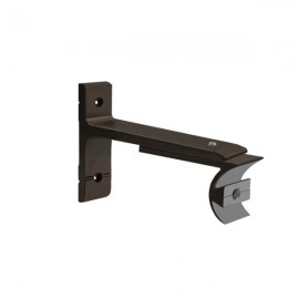 Tubeslider 25, Single Adjustable Bracket, Jamaican Chocolate