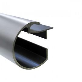 35mm Decotrac Plain, price per metre, Chrome