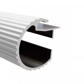 35mm Decotrac Reeded, price per metre, White