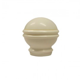 35mm Plastic Roman Finial,  White Birch