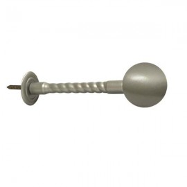 40mm Ball with Rope Stem, Champagne