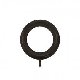 Jumbo Plastic Ring 95 x 65mm ID, Black