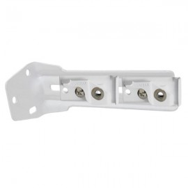 C Track, Double Wall Bracket, 140-165mm projection, White