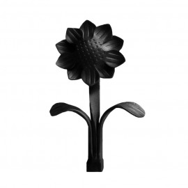 Daisy Finial, Ripple Black