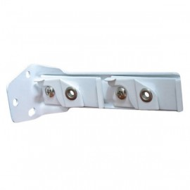 2000 & 2500 Track, Double Bracket, White