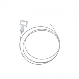Nylon Hanger 2.00m with White Loop, no Hook