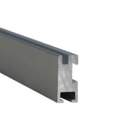 Prima Track, price per metre, Brushed Aluminium