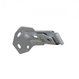 2000 & 2500 Track, Heavy Duty Single Wall  Bracket, Silver