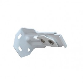 2000 & 2500 Track, Heavy Duty Single Wall  Bracket, White